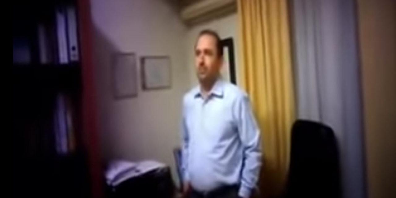 Παρέμβαση στο γραφείο του γυναικολόγου-μαιευτήρα Παναγιώτη Βάκα