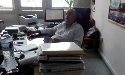Παρέμβαση στο γραφείο του Καλιαμπάκου για τις εξορύξεις πετρελαίου στην Ήπειρο