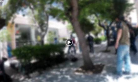 Επίθεση στα γραφεία της εταιρίας ΜΕΣΟΓΕΙΟΣ Α.Ε