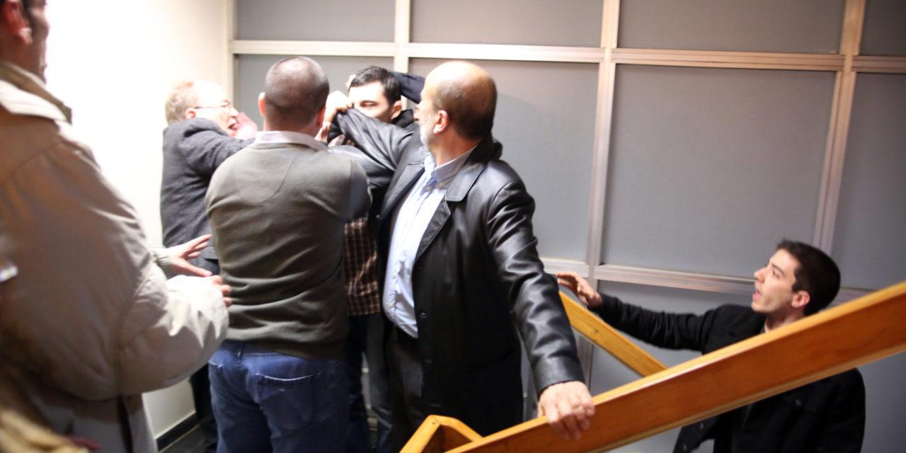 Παρέμβαση στην εκδήλωση του ΣΥΡΙΖΑ Α' Αθήνας με ομιλητή τον υπουργό οικονομικών Ε. Τσακαλώτο