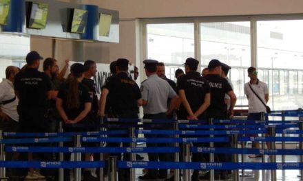 Παρέμβαση τώρα στις Ισραηλινές αερογραμμές EL-AL στο αεροδρόμιο Ελευ.Βενιζέλος
