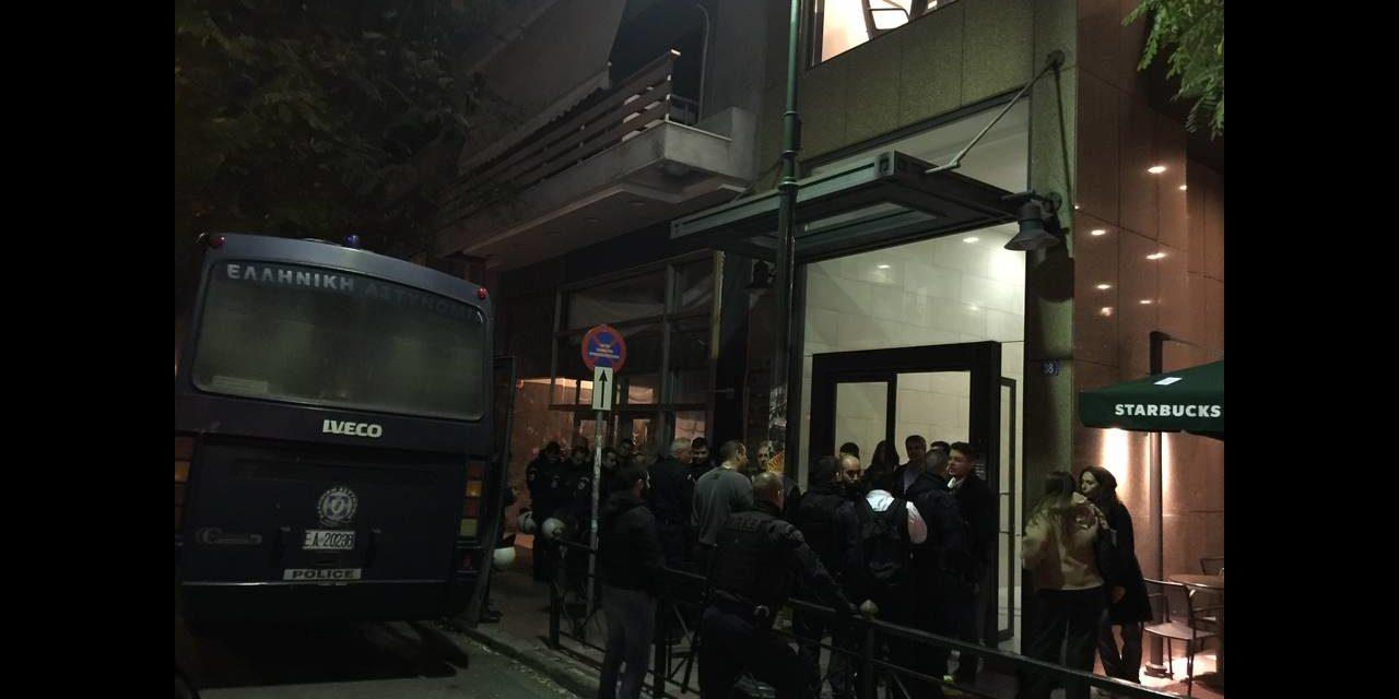 Κατάληψη στο Ιταλικό προξενείο για αλληλεγγύη στους πέντε διωκόμενους φοιτητές