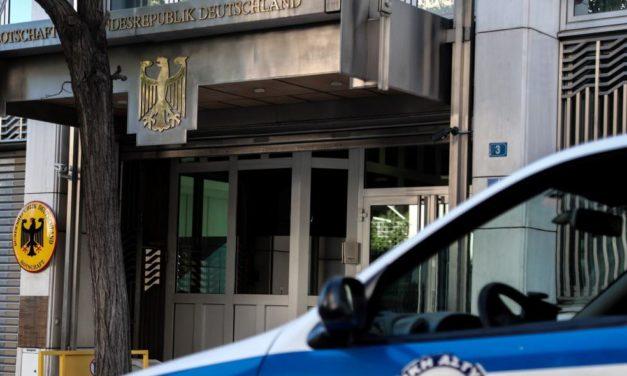 Παρέμβαση στη Γερμανική πρεσβεία