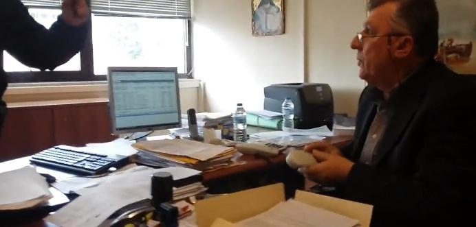 Βίντεο από την παρέμβαση στη ΔΟΥ Αγρινίου