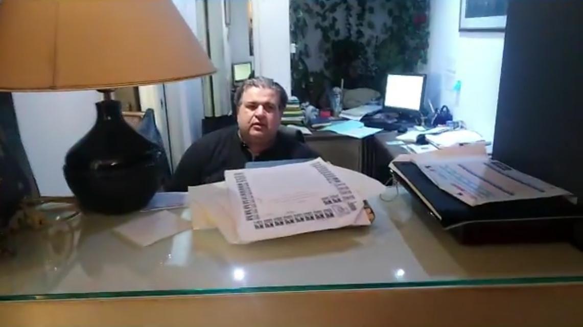 Παρέμβαση στο συμβολαιογραφικό γραφείο Παπαθέου