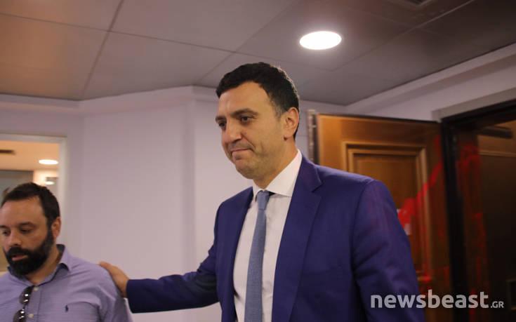 Παρέμβαση στο πολιτικό γραφείο του υπουργού υγείας Βασίλη Κικίλια
