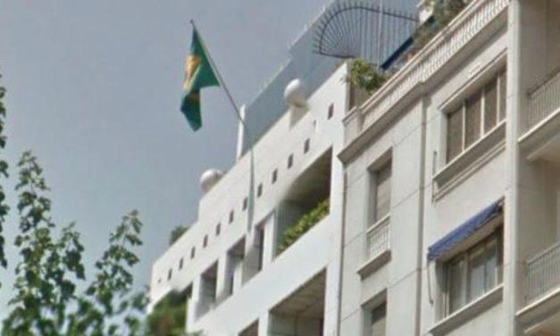 Παρέμβαση στην οικία του πρέσβη της Βραζιλίας