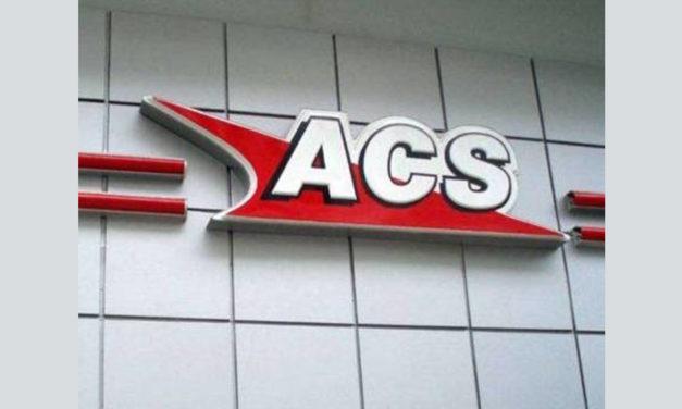 Παρέμβαση στο κατάστημα ACS courier στην Ευελπίδων