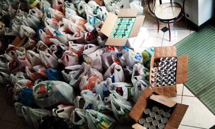 Παράδοση τροφίμων για τις οικογένειες των 95ου Νηπιαγωγείου, 35ου Δημοτικού, 36oυ Δημοτικού, 40ού Δημοτικού Αθηνών