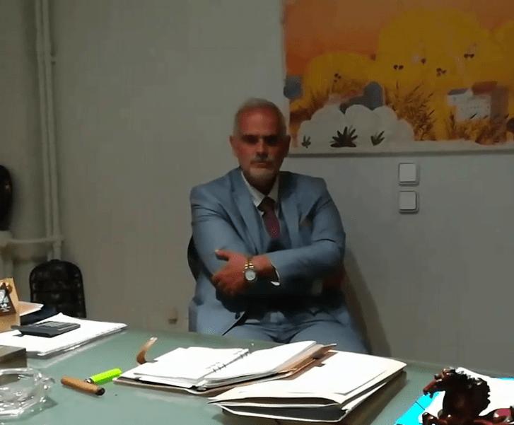 Παρέμβαση στο δικηγορικό γραφείο του Νίκου Ρουσσόπουλου για το γηροκομείο Χανίων